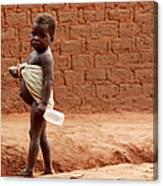 Malnourished Child Canvas Print
