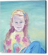 Malve Portrait Canvas Print