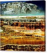 Mammoth Terrace - Yellowstone Canvas Print