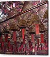 Man Mo Temple Canvas Print