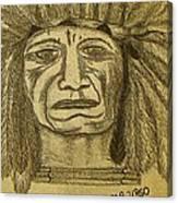 Man Of Wisdom - D Canvas Print