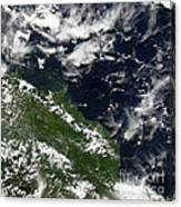 Manam Island, Papua New Guinea Canvas Print