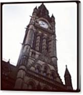 Manchester's Beautiful Town Hall Canvas Print