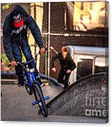 Manhattan Bmx Canvas Print
