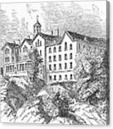 Manhattan College, 1868 Canvas Print