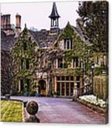 Manor House At Castle Combe  Canvas Print