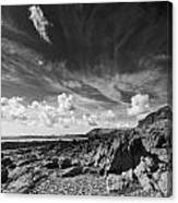 Manorbier Rocks Canvas Print