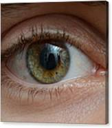 Mans Eye Canvas Print
