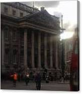 Mansion House City Of London Canvas Print