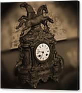 Mantel Clock Canvas Print