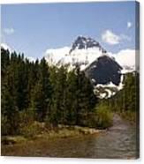 Many Glacier II Canvas Print