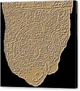 Map Of Mesopotamia Canvas Print