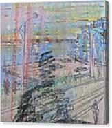 Maple Leaf Quay Canvas Print