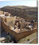 Mar Saba Monastery Canvas Print