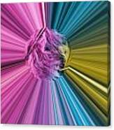marabou Colour Splash Canvas Print