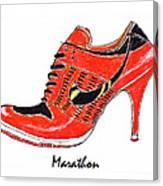 Marathon Canvas Print