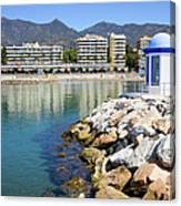 Marbella Bay Canvas Print