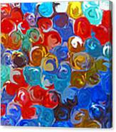 Marble Collection Abstract Canvas Print