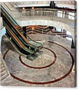 Marble Staircases Canvas Print