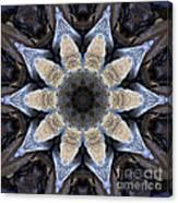 Marbled Mandala - Abstract Art Canvas Print