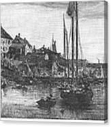 Marblehead: Fishing Boats Canvas Print