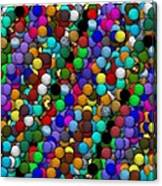 Marbles..or...gumballs Canvas Print
