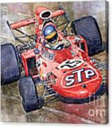 March 711 Ford Ronnie Peterson Gp Italia 1971 Canvas Print