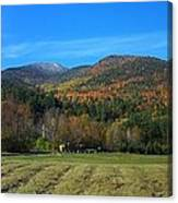 Marcy Field Autumn View Canvas Print
