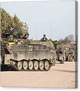 Marder Infantry Fighting Vehicles Canvas Print