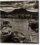 Mare Mediterraneo Canvas Print