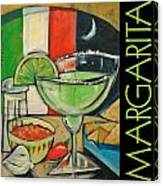 Margarita Poster Canvas Print