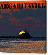 Margaritaville Canvas Print