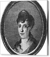 Maria Bonaparte (1750-1836) Canvas Print