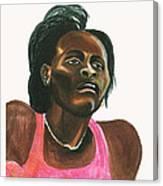 Maria Mutola Canvas Print