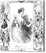 Marie Taglioni (1804-1884) Canvas Print