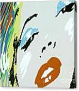 Marilyn In Hollywood Canvas Print