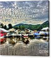 Marina At Cheat Lake Canvas Print