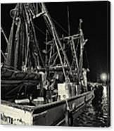 Marina Shipyard Texas Gulf Coast Canvas Print