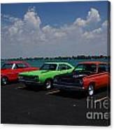 Marine City Car Show Canvas Print