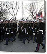 Marines Participate In The 2009 Canvas Print