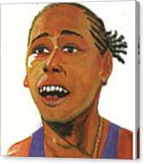 Marion Jones Canvas Print