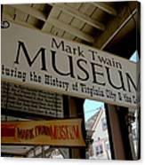 Mark Twian Museum Virginina City Nv Canvas Print