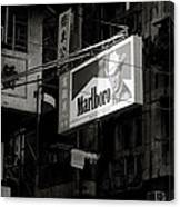 Marlboro In Hong Kong Canvas Print