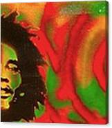 Marley Love Canvas Print