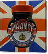 Marmite The Growing Up Spread Canvas Print