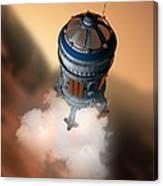 Mars Exploration, Artwork Canvas Print