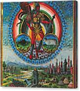 Mars, God Of War Canvas Print