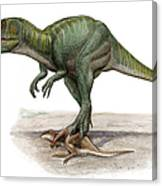 Marshosaurus Bicentesimus Canvas Print