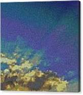 Martian Sky Canvas Print