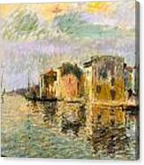 Martigues In The South Of France Canvas Print